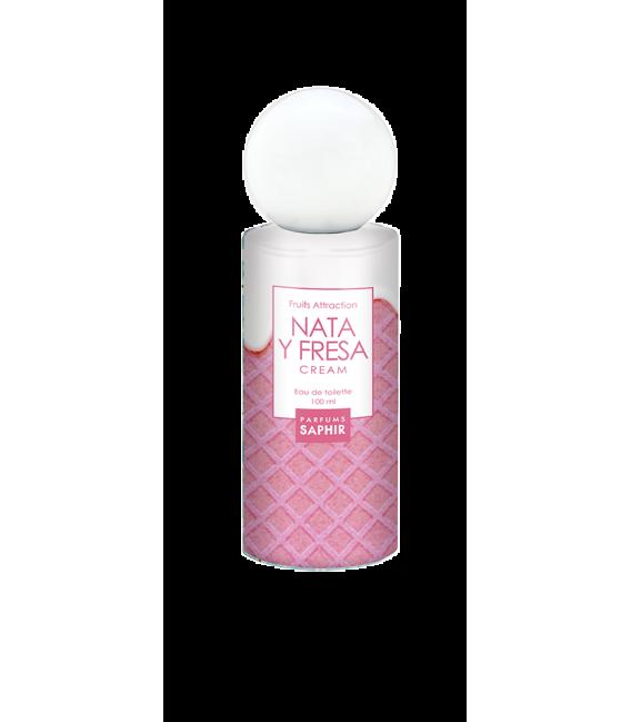 FRASCO 100ml NATA Y FRESA CREAM FRUITS